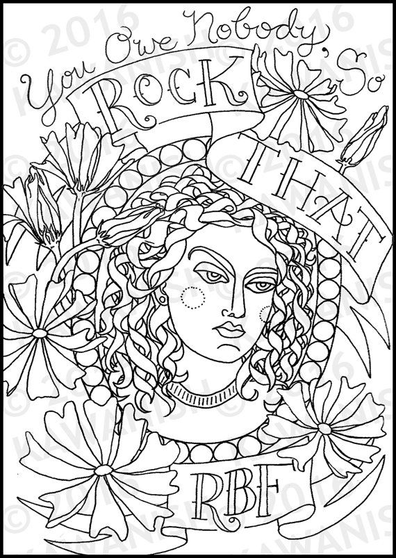A Snarky Adult Colouring Book I Run on Coffee