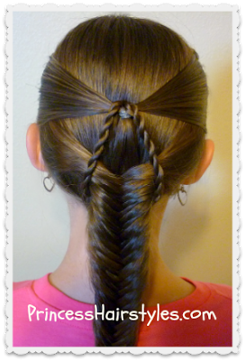Hairstyles For Girls Princess Hairstyles Braided Hairstyles Fishtail Braid Hairstyles Princess Hairstyles