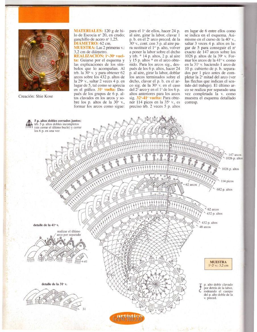 Ganchillo Artistico No. 329