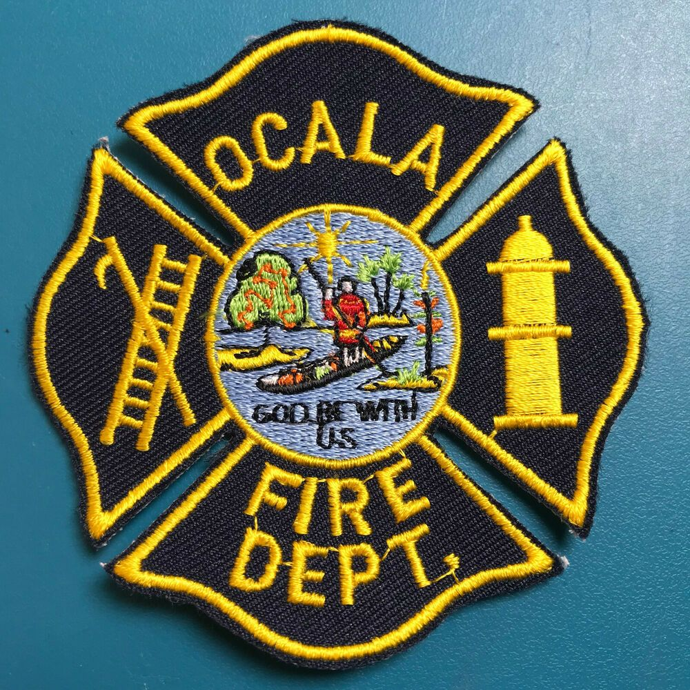 Ocala Fire Department Marion County Florida Fl Patch A Marion County Florida Marion County Patches For Sale