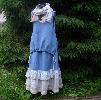 Бохо стиль: выкройки платьев, юбок, сарафанов, туники ...