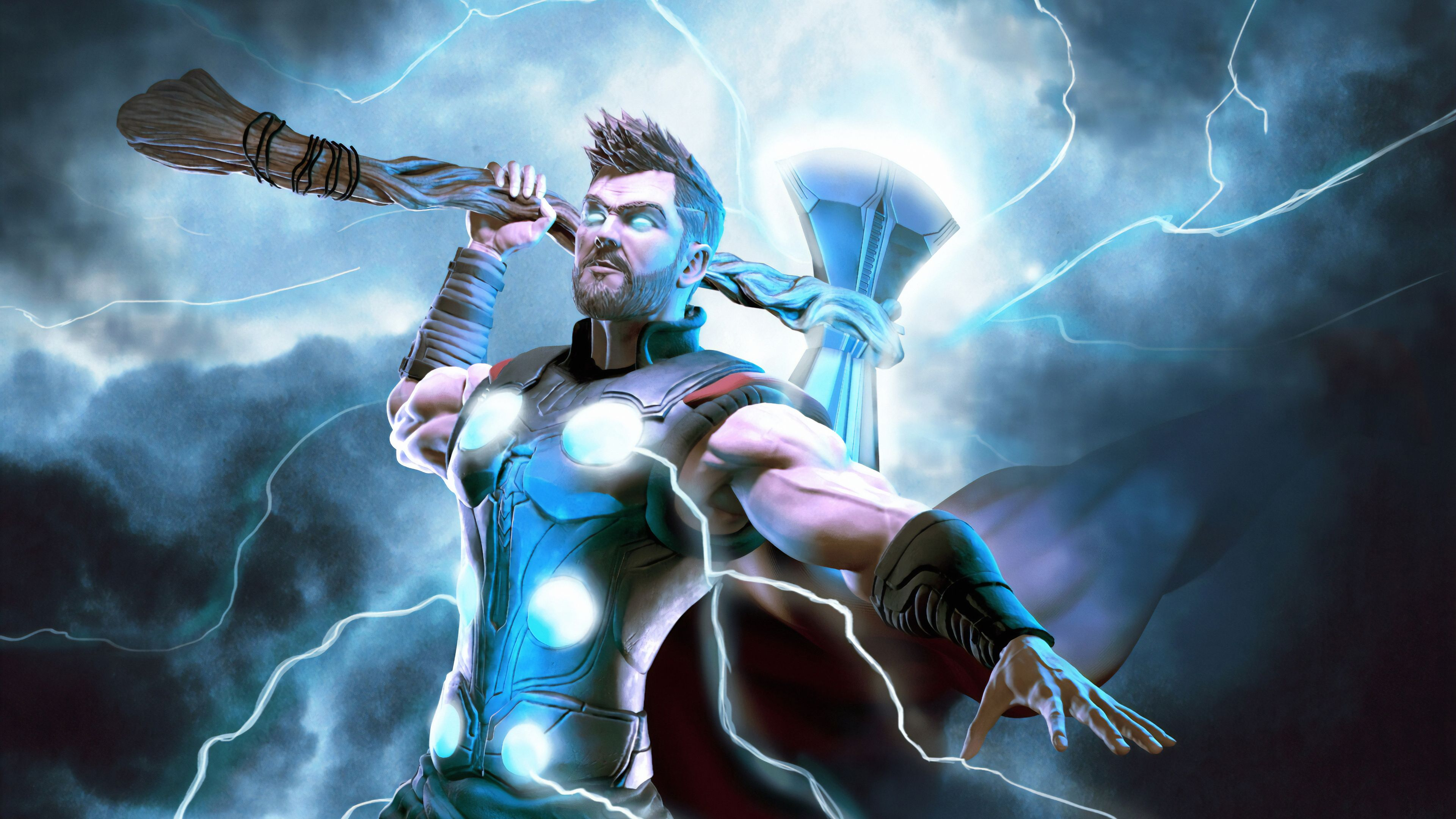 Thor Lighting Thor Wallpapers Superheroes Wallpapers Hd Wallpapers Digital Art Wallpapers Artwork Wallpape In 2020 Thor Wallpaper 4k Wallpapers For Pc Wallpaper Pc