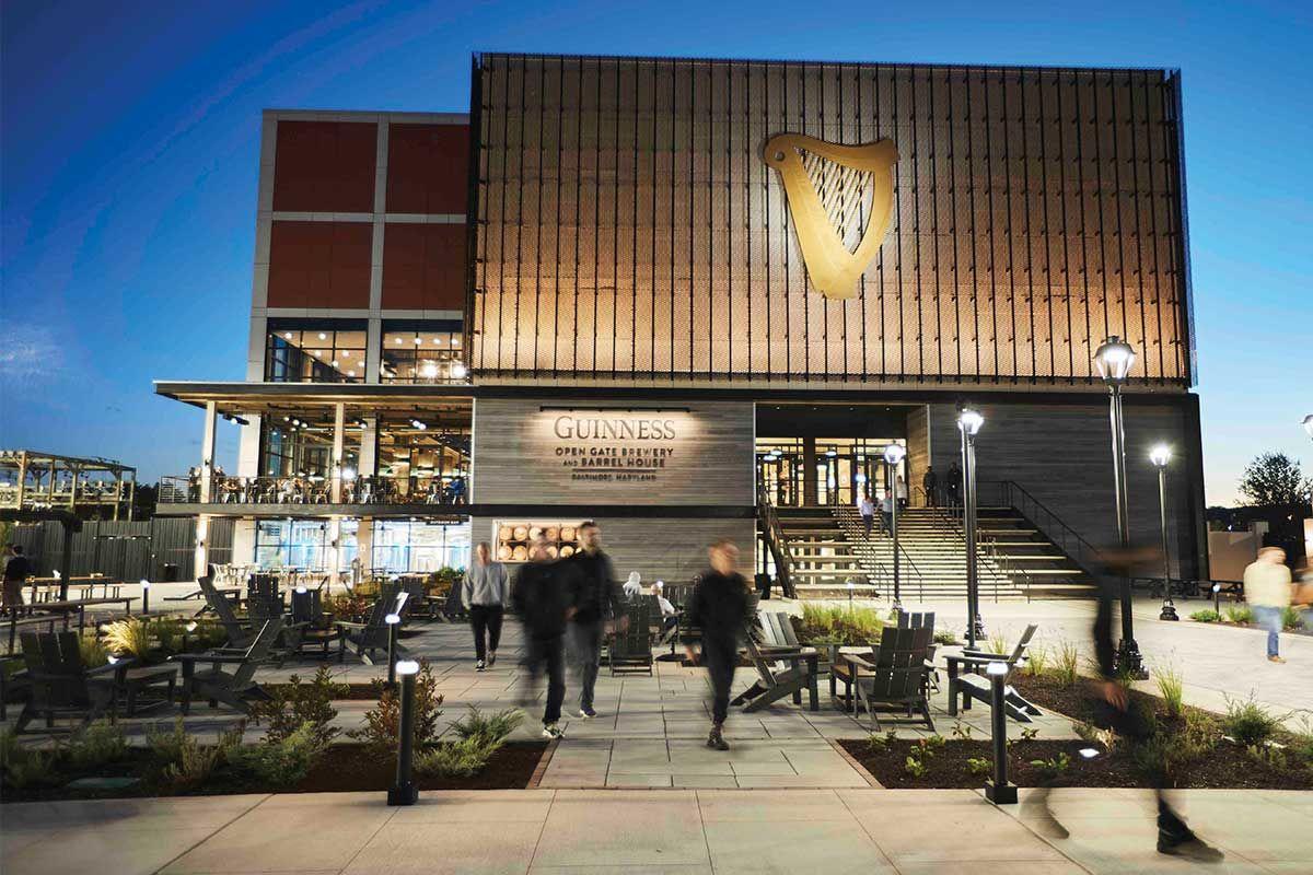 Guinness Brewery Barrel House Halethorpe Brewery Beer Have Tried Brewery Guinness Brewery Guinness