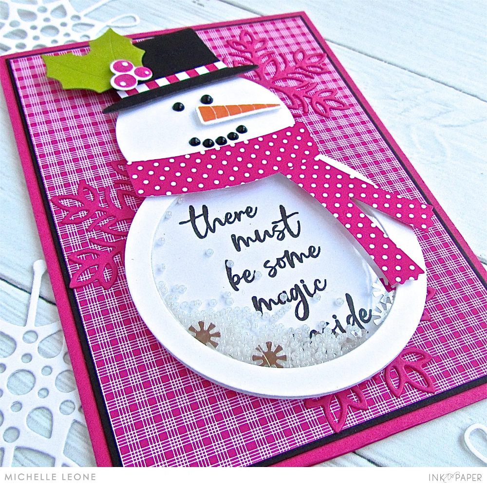Pretty Periwinkle Gift card holder, Snowman accessories