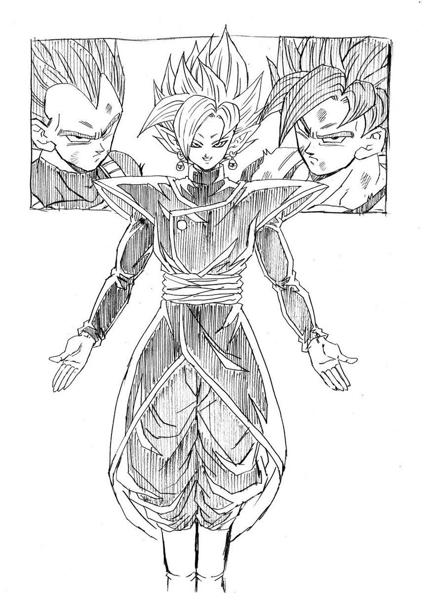 The Fusion of Black and Zamasu! What evils await?!\