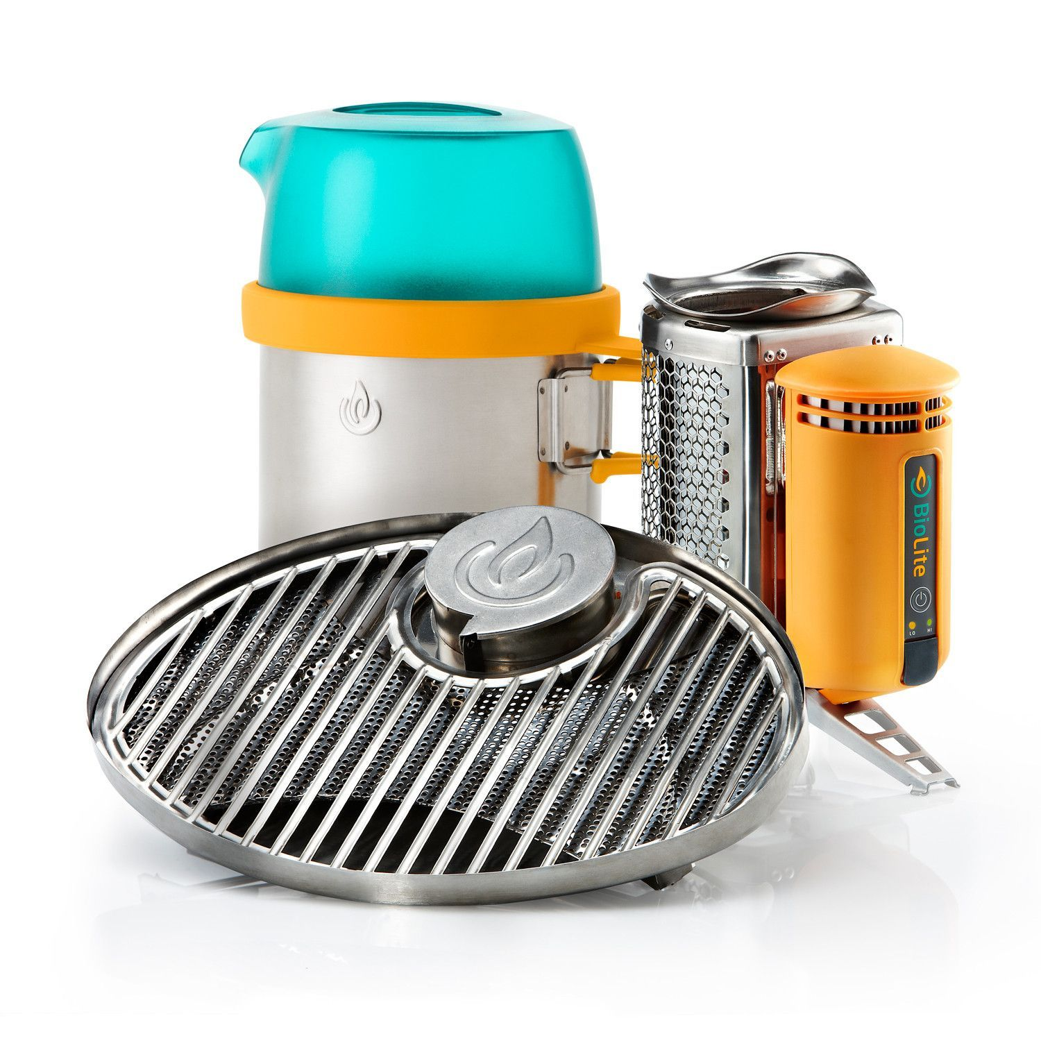 BioLite Portable Grill | Grill your meals with wood ...