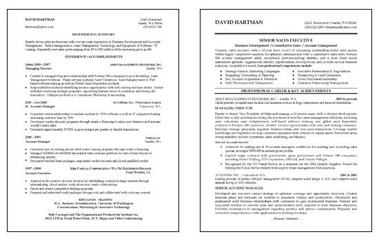 Sales Consultant Resume Examples Sales Resume Good Resume Examples