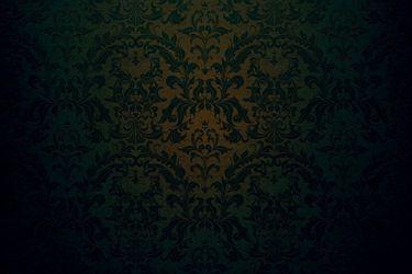 Dark Green Wall Damask Backdrop Ancient Paper Green Template