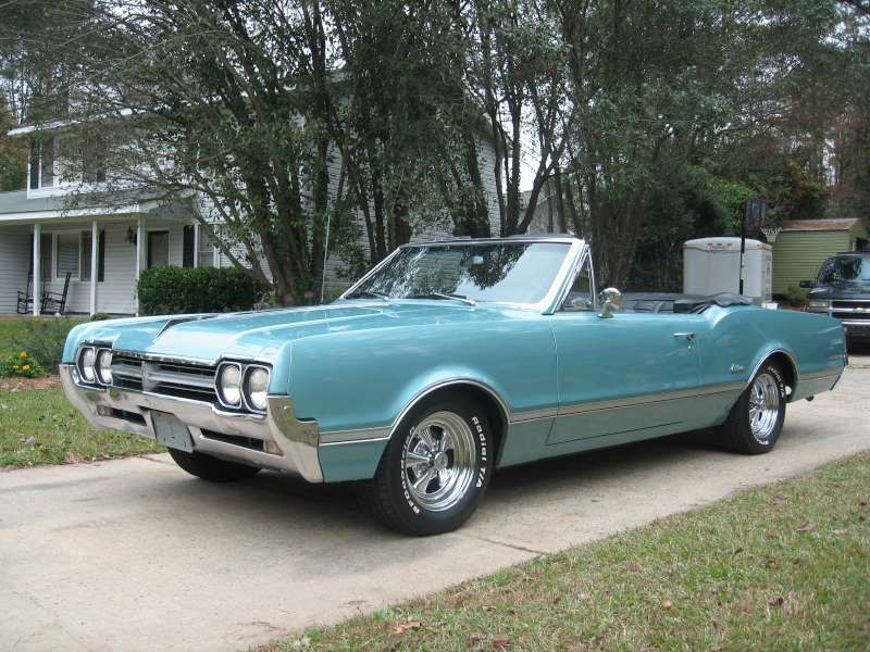 1966 Oldsmobile Cutlass Convertible  Love American Style