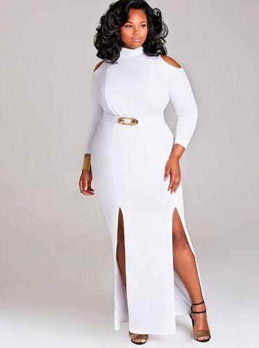 Plus Size Nightclub Dresses White Curvy Pinterest Nightclub