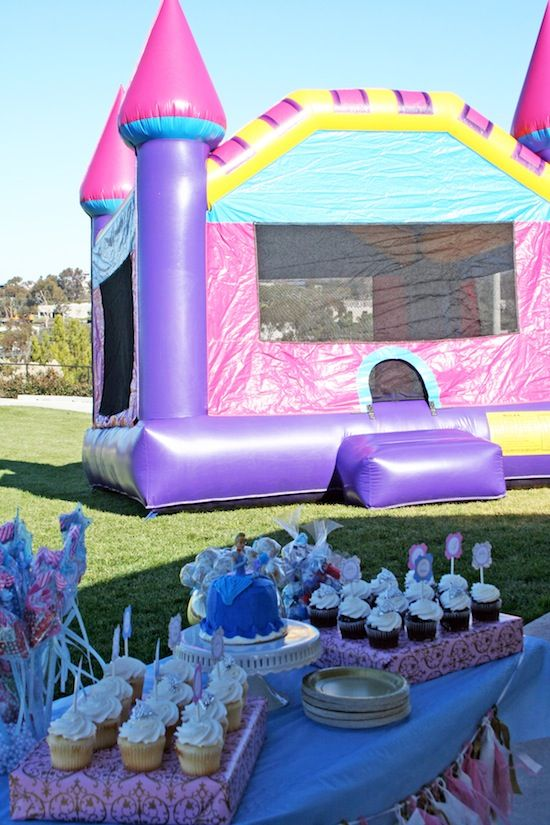 2 Year Old Birthday Party Girl Bounce House Parties Disney