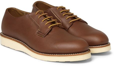 Mr Porter Red Wing Shoes Postman Leather Derby Shoes Red Wing Shoes Dress Shoes Men Derby Shoes