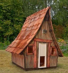 H hnerhaus casa chicken 164 x 190 x 200 cm h hnerhaus casa chicken fertighaus farbig inkl - Hexen gartenhaus ...