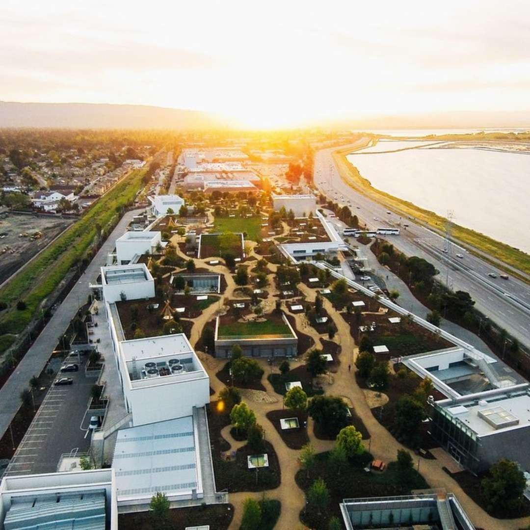 gehry design facebook seattle. The End Of Office: Gehry-Designed Facebook HQ Is A Gargantuan, Green Gehry Design Seattle C