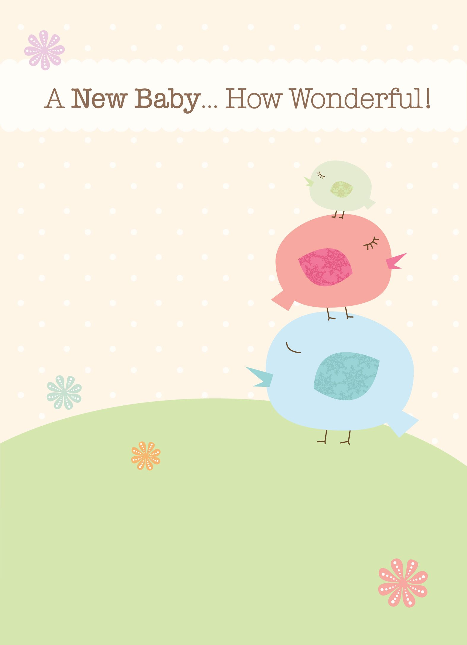 New baby is a wonderful news baby greetings gifts pinterest new baby is a wonderful news kristyandbryce Gallery