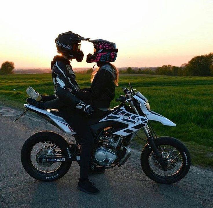 Motorbikes couple #motorbikes #couple | motorräder zu zweit | couple de motos |…