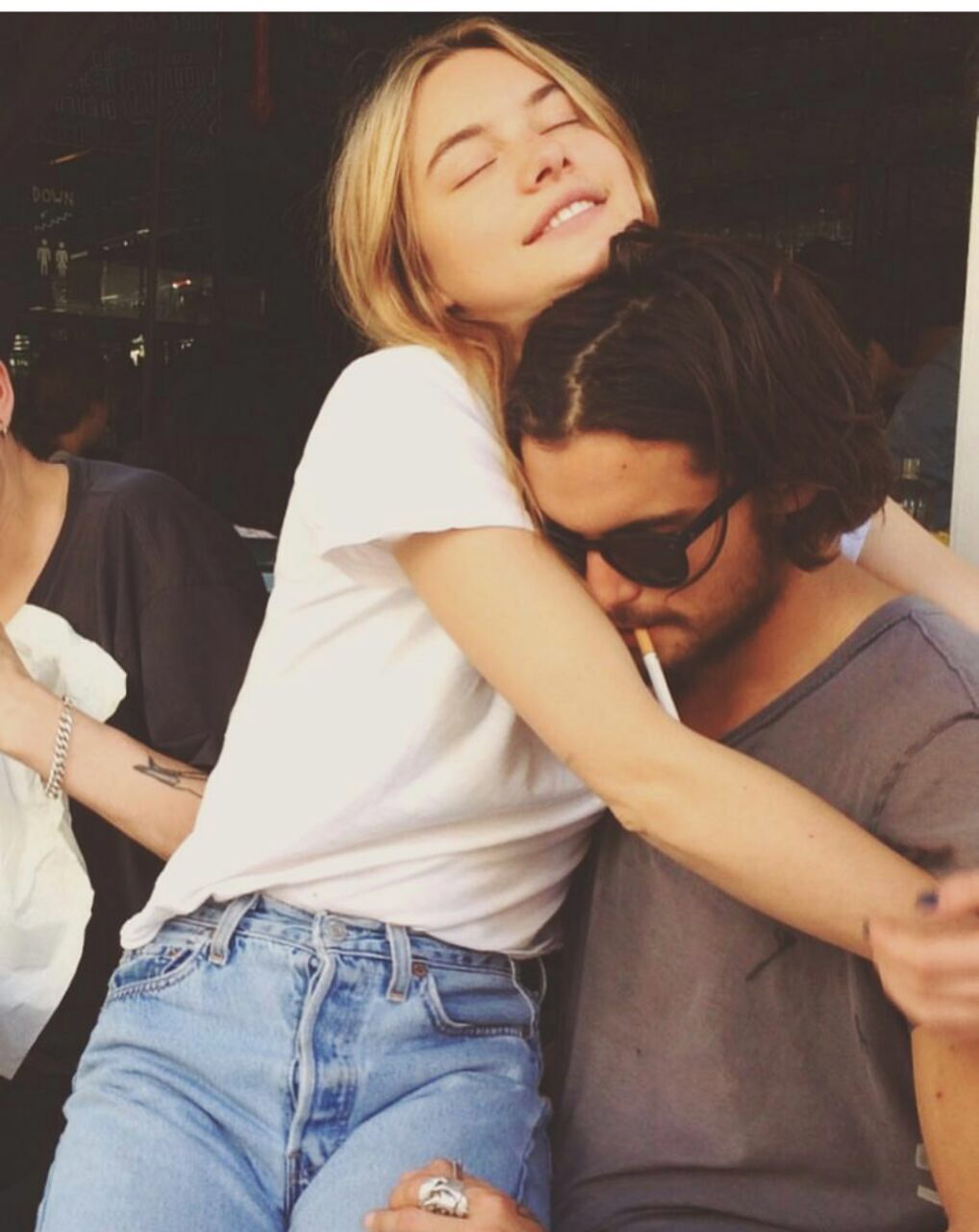Dylan Rieder & Camille | Camille rowe, Couples, 90s couples