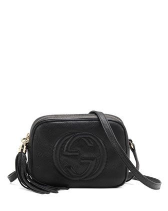 f425bbe5416c Gucci Soho Disco Bag in Black | S T Y L E | Gucci crossbody bag ...