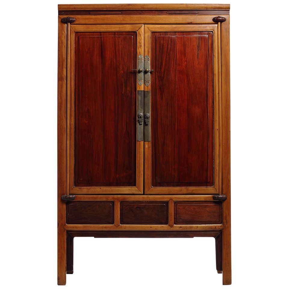 Antique Ningbo Elm And Cypress Wood Cabinet From China 19th Century Wood Cabinets Cypress Wood All Modern Furniture
