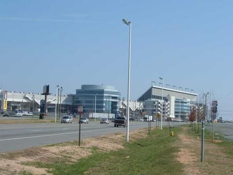 Concord, NC, home of Charlotte Motor Speedway aka Lowe's Motor Speedway, and the now long gone Booger Bash Mini Truck Show