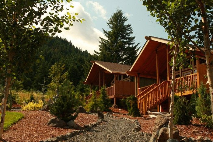 Carson Ridge Luxury Cabins in Washington state. New innkeepers signed up early. So glad that they were able to participate.