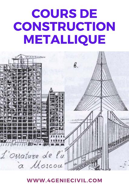 Epingle Sur Cours De Charpente Metallique Genie Civil