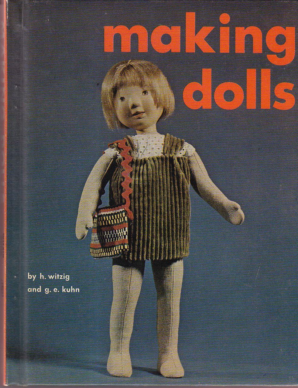 """Making Dolls (( file under """"creepy"""" ))   More: http://www.bookjournals.com"""