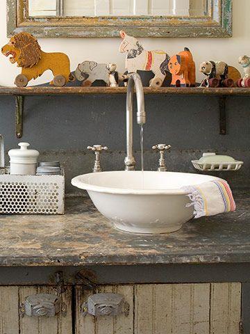 Stylish Vessel Sinks Bathroom Sink Bowls Rustic Cabinets Vessel Sinks