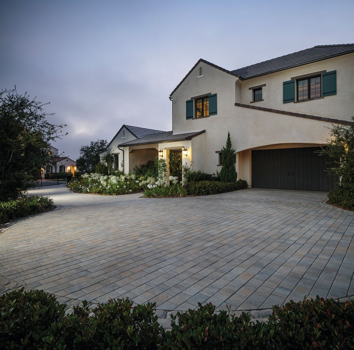 Create A Stunning Driveway With Belgard S Wide Variety Of Concrete Pavers Paver Patio Patio Stones Patio