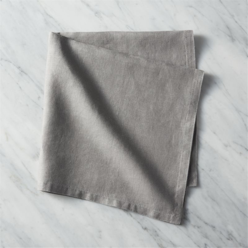 Free Shipping Shop Bolt Grey Linen Napkin 100 Natural Linen Minds Your Manners In Modern Neutrals With Gray Linen Napkins White Linen Napkins Linen Napkins
