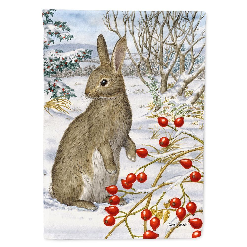 Caroline's Treasures 11 in. x 151/2 in. Polyester Rabbit