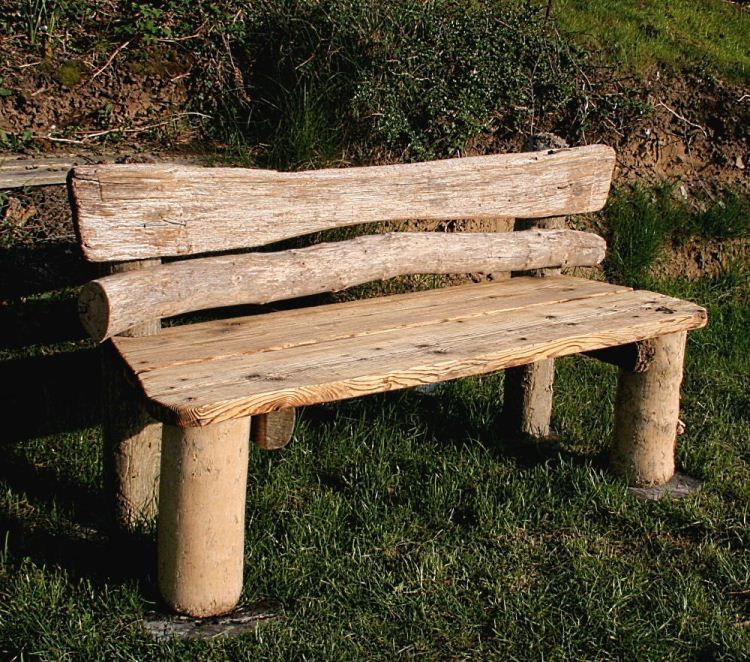I Imagine Michael, Wishing Rocku0027s Driftwood Furniture Artist, Might Have  Made A Bench Like This For The Beach At Wishing Rock