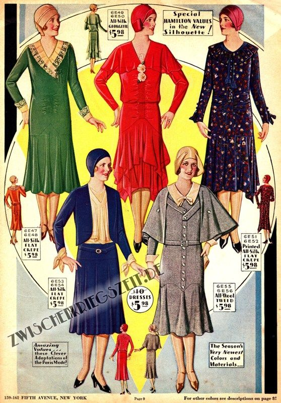 1930 Damenmode Hamilton Garment Katalog -- now if I could track down ...