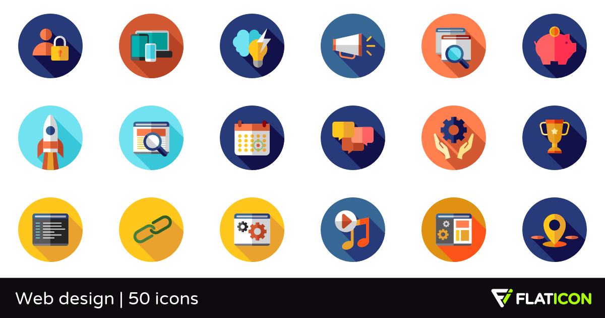 50 Free Vector Icons Of Web Design Designed By Freepik Web Design Icon Web Design Vector Free