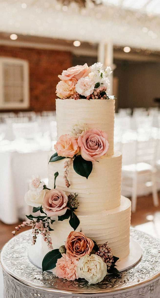Photo of 79 wedding cakes that are really pretty!