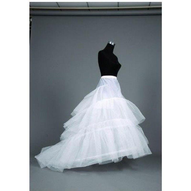 jupon robe de mariée 3 cerceaux