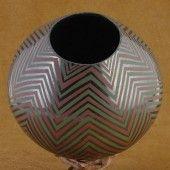 Mata Ortiz Polychromatic Pottery by Velia Reyes.  See website for more details!  www.cimarronrivercompany.com