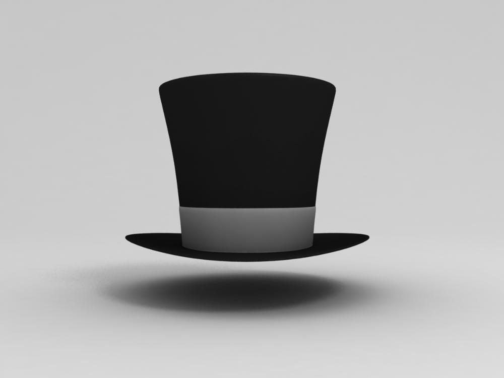 3d Magician Hat Turbosquid 1245473 The Magicians Hats Glassware