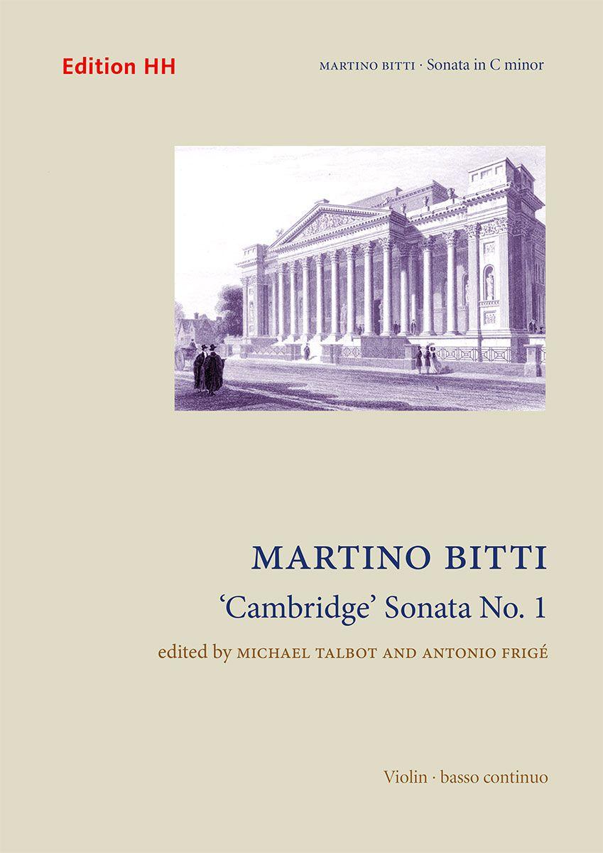 'Cambridge' sonata no. 8 in A major : violin and basso continuo / Martino Bitti ; edited by Michael Talbot and Antonio Frigé. Classmark: 885.B.B34