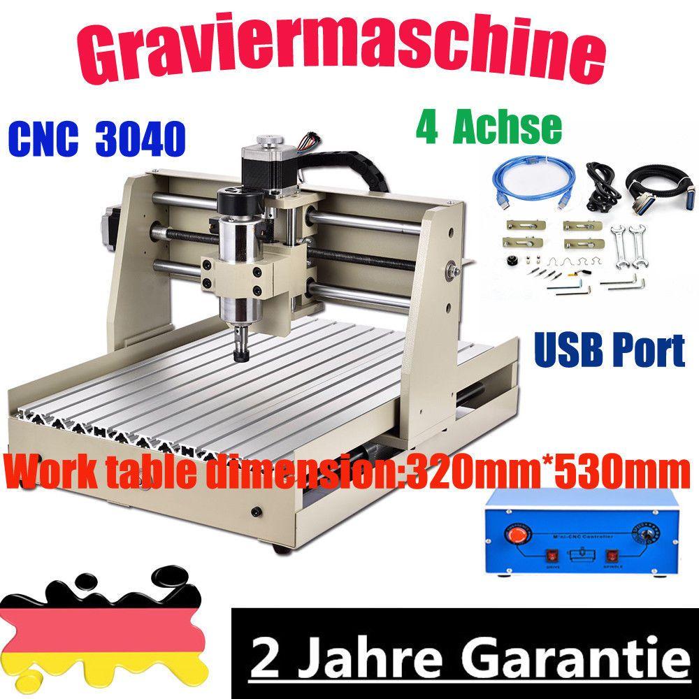 Usb 4achse Cnc3040 Router Graviermaschine GraviergrÃt FrÃser FrÃsmaschine Ll3040 Router Drilling Machine Usb