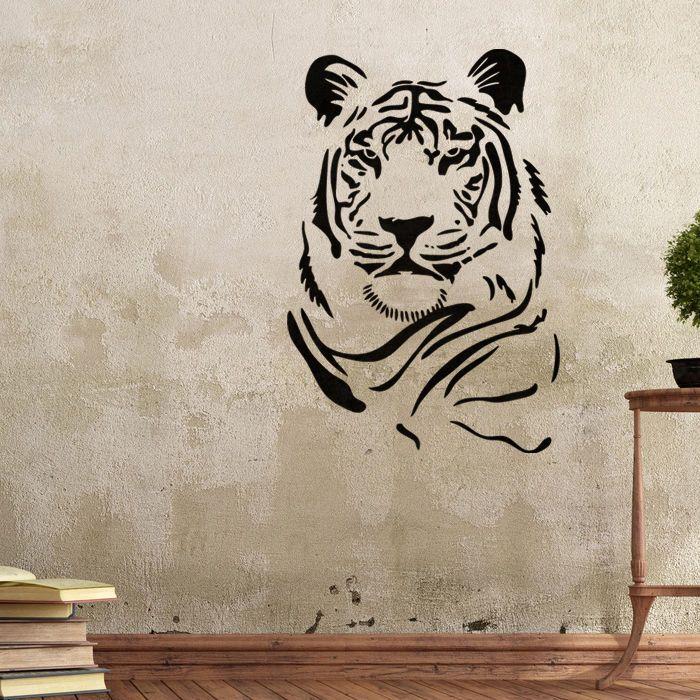 Wall Stencils Tiger Stencil Template For Graffiti Better
