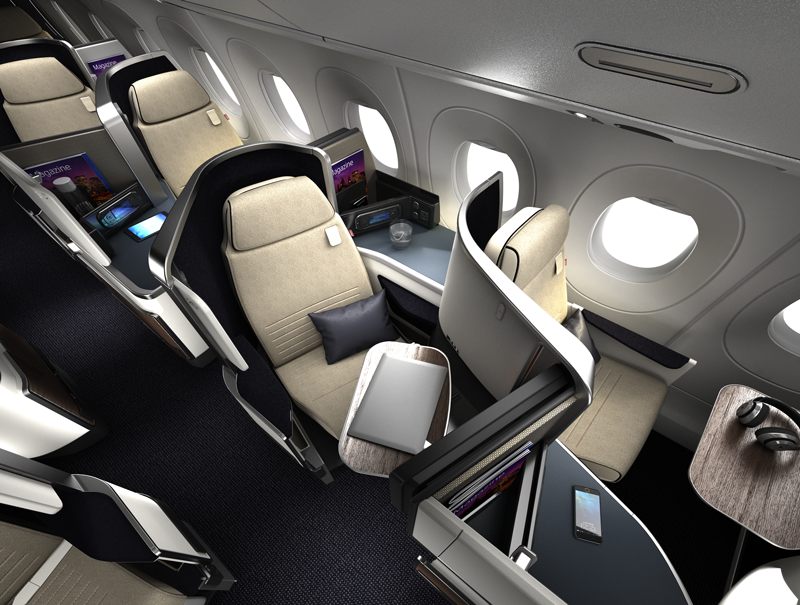 Air France S A350 Business Class Seats Routes And More One Mile At A Time Business Class Seats Air France Business Class