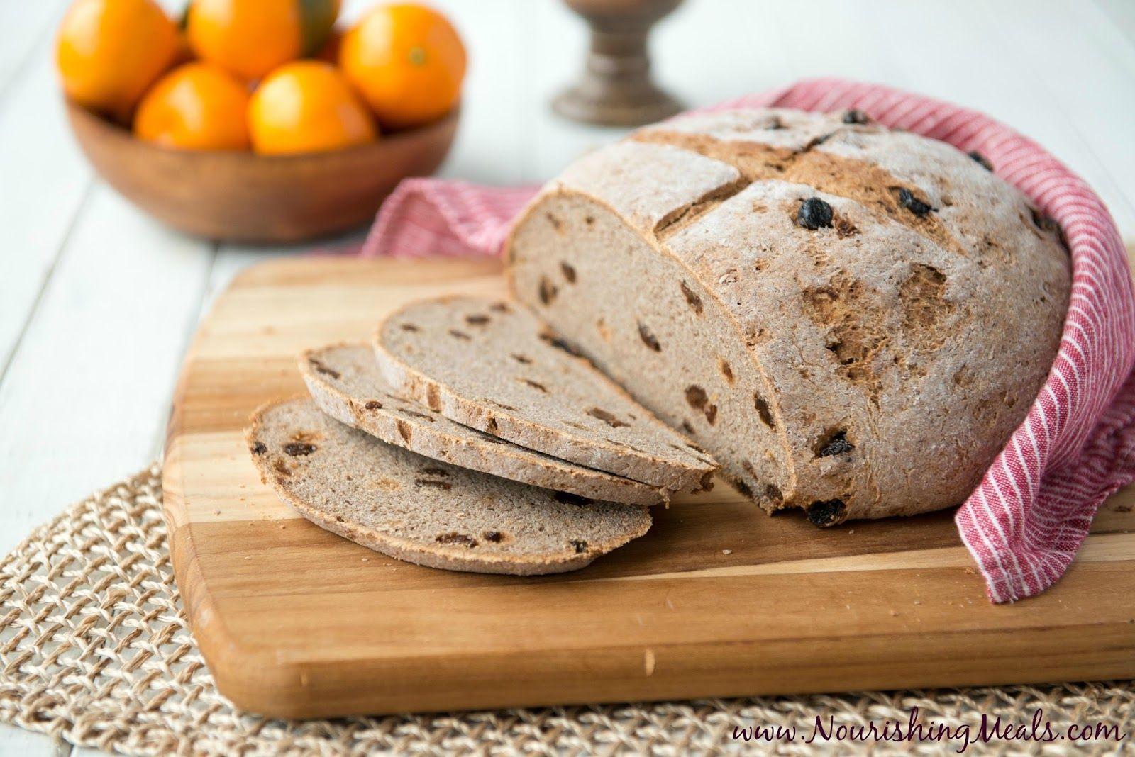 Buckwheat Cinnamon Raisin Bread (glutenfree, vegan, nut