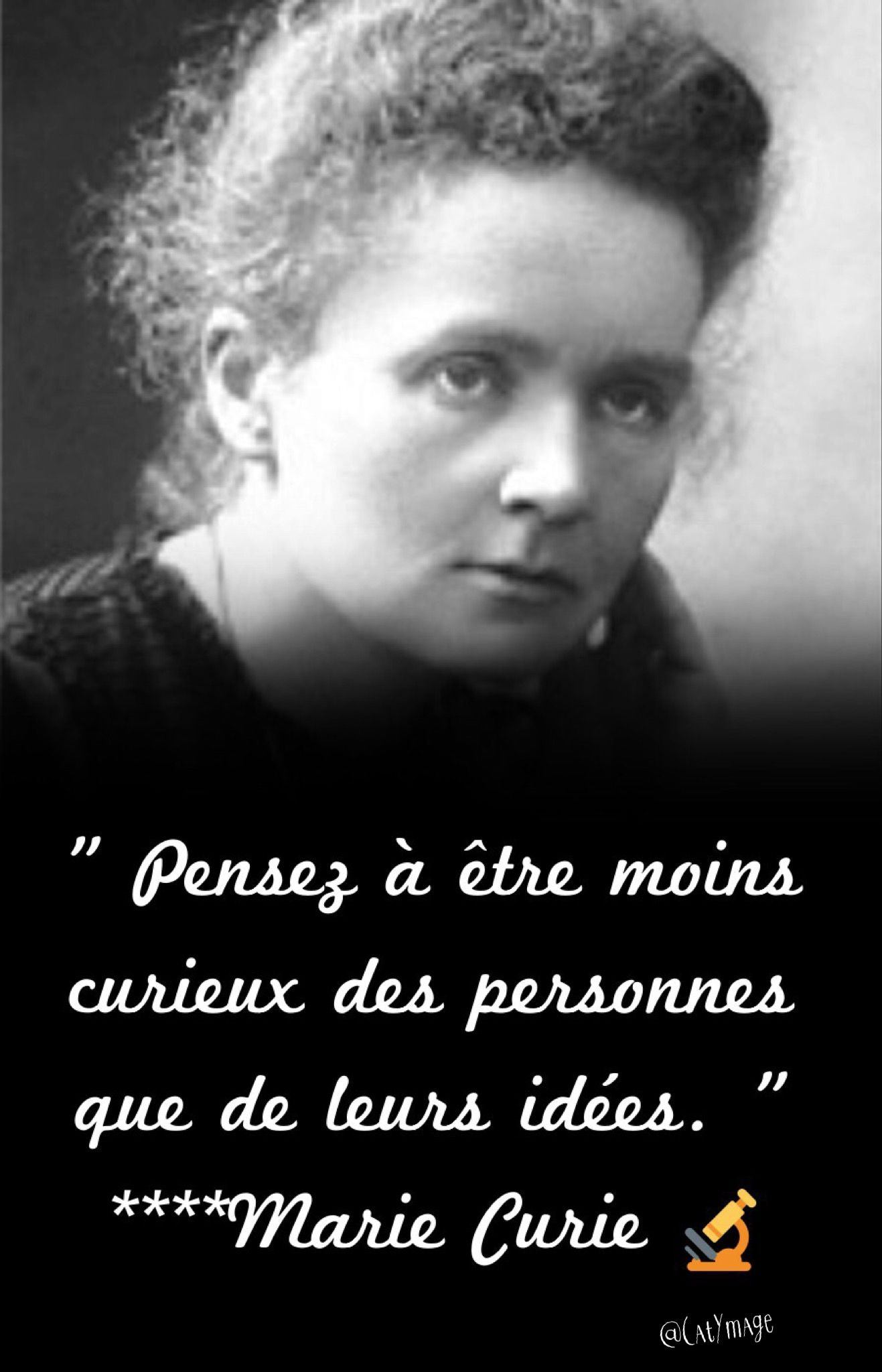 Marie Curie Citation Poeme Et Citation Et Je Pense à Toi
