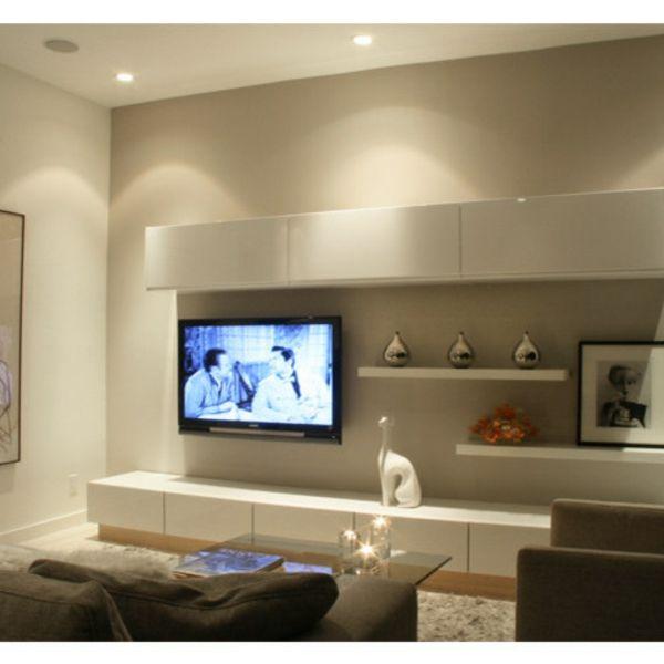 Ikea Wohnzimmer Schrankwand: Wie Integrieren Wir Die Fernsehschränke In Unsere