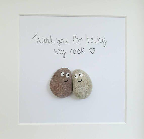 Pebble Pebble Art Family Pebble Gift Wedding Photos