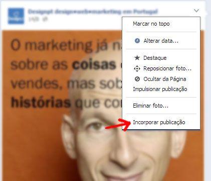 Eis como perceber e incorporar publicações Facebook (embedded posts) na sua página ou artigo.