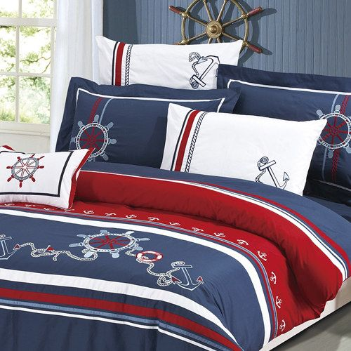 Nautical Bedding From Zulily Love The Pillows And The