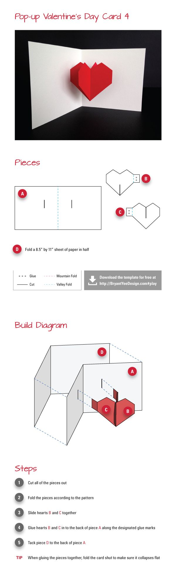 No Title Pop Up Cards Paper Engineering Card Making Templates