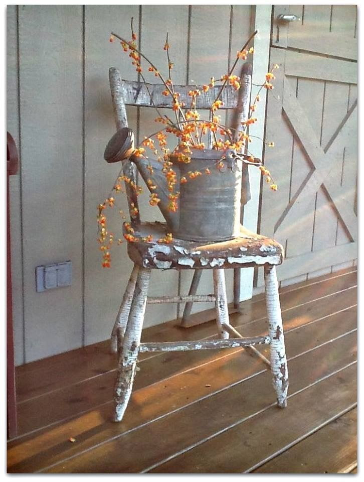 Pin By Lyn On Country Porches Primitive Fall Fall Home Decor